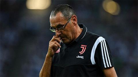"""Vỡ mộng """"ăn ba"""", Sarri chê Ronaldo và Dybala thiếu sắc sảo"""