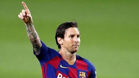Câu chuyện cảm động đằng sau màn ăn mừng của Messi