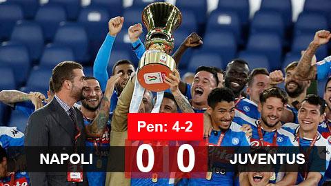 Napoli 0-0 Juventus (pen: 4-2): Ronaldo im tiếng, Juventus mất chức vô địch Coppa Italia