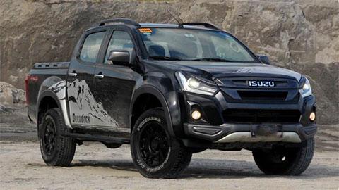 Đối thủ của Ford Ranger, Mitsubishi Triton, Mazda BT-50 có thêm biến thể đặc biệt, siêu hầm hố, giá 'chất'