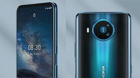Nokia 8.3 5G đẹp long lanh với Snapdragon 765G, 8GB RAM, camera 64MP hé lộ giá bán hấp dẫn
