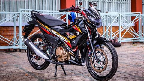Suzuki Raider giá mềm, lột xác với vẻ ngoài siêu chất, ăn đứt cả Yamaha Exciter 150, Honda Winner X