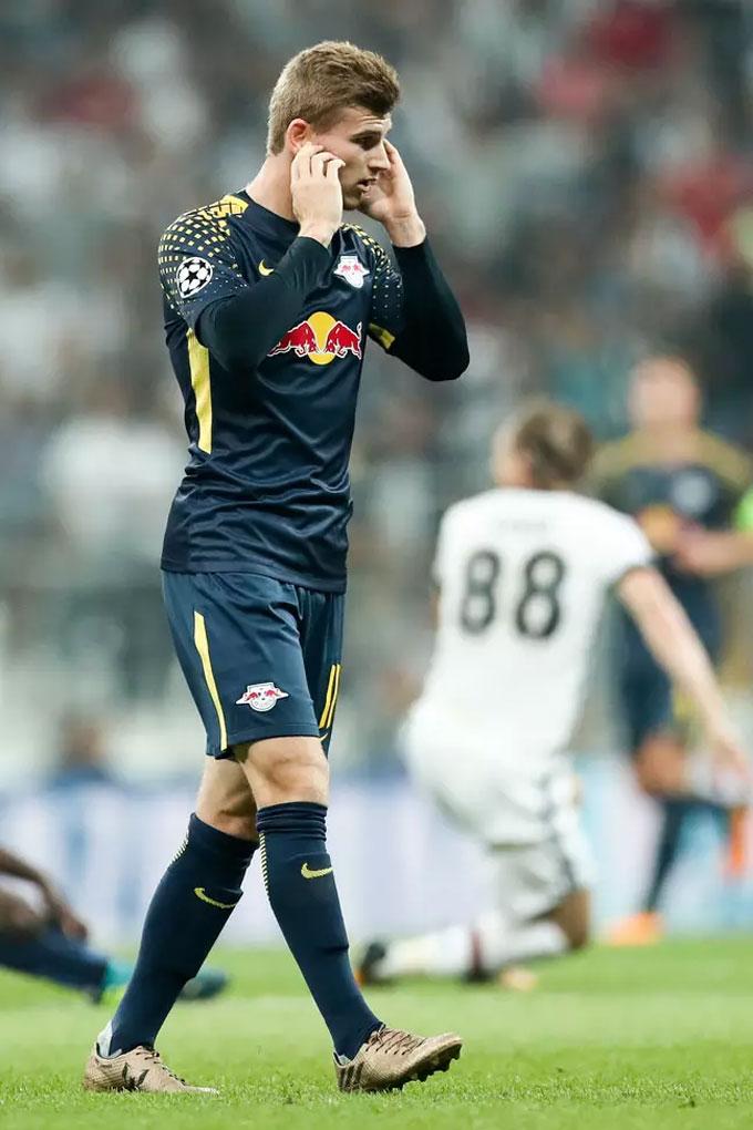 Werner bịt tai ở trận gặp Besiktas