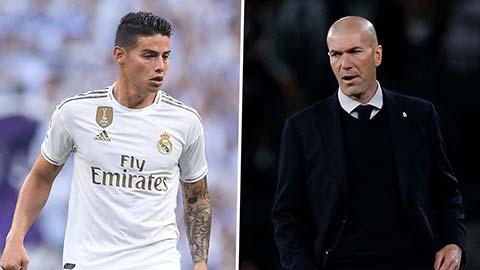 Zidane đáng phải 'ăn phân' vì cách đối xử với James Rodriguez