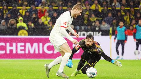 Trận đánh lớn cuối của Werner cho RB Leipzig
