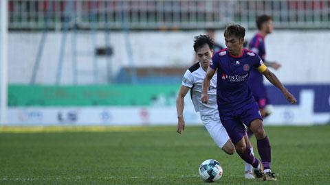 Trận HAGL - Sài Gòn FC diễn ra khá  hấp dẫnẢnh: Minh Trần