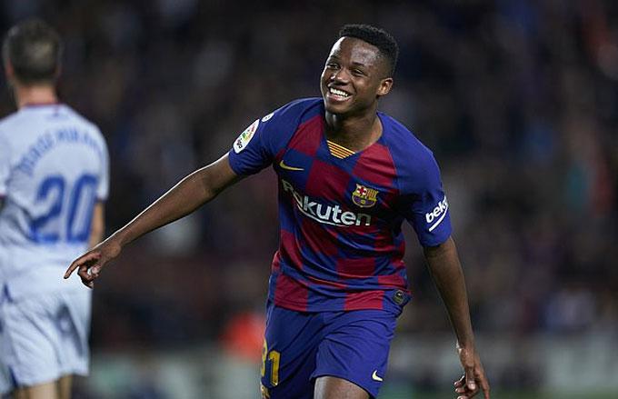 Barca hét giá Fati tới 355 triệu bảng