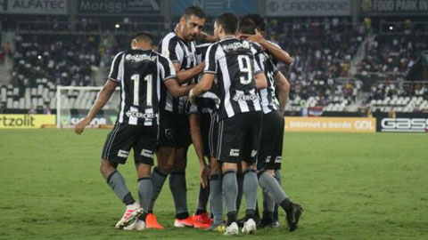 3h30 ngày 23/6: Botafogo vs Cabofriense