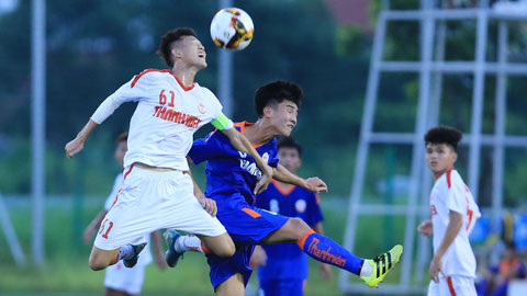 VCK U19 QG 2020: HAGL 2 gây thất vọng với vị trí bét bảng B
