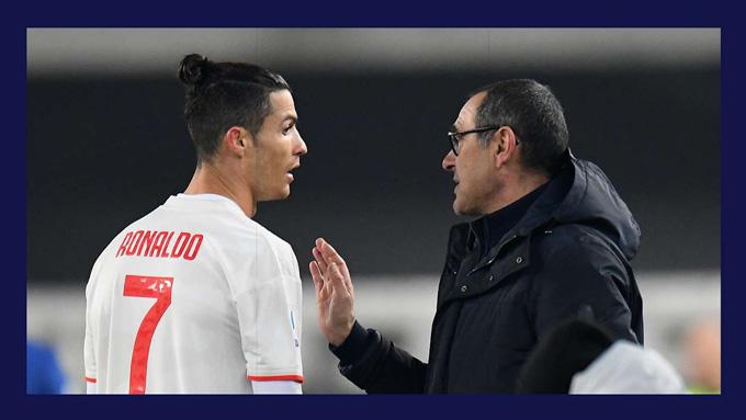 """Giải quyết """"vấn đề Ronaldo"""" là chìa khóa cứu vớt chiếc ghế của Sarri tại Juventus"""