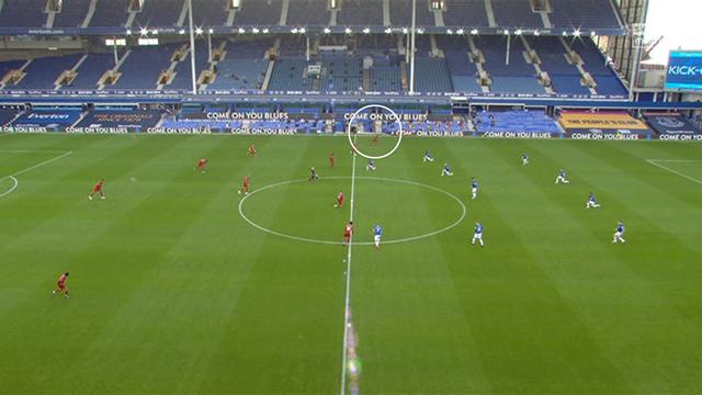VIDEO: Bật cười với khoảnh khắc Mane quên làm thủ tục trước trận gặp Everton 2