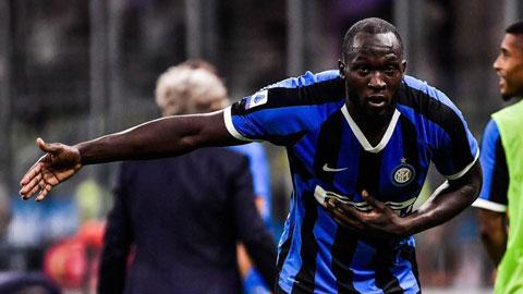 Chiến thắng của Inter và cột mốc mới của Lukaku