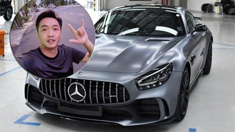 Choáng với Mercedes-AMG GT-R thiết kế siêu đẹp, giá hơn 11 tỷ của Cường Đô la mới tậu