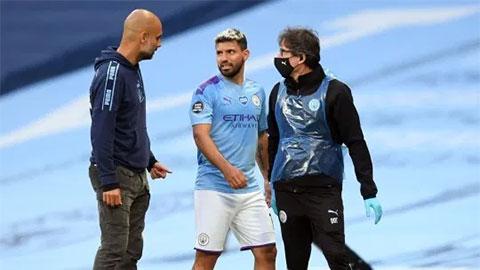Aguero đã đá trận cuối cùng cho Man City mùa này