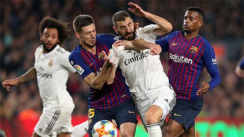 Song mã Real vs Barca: Thôi đừng thuyết âm mưu!