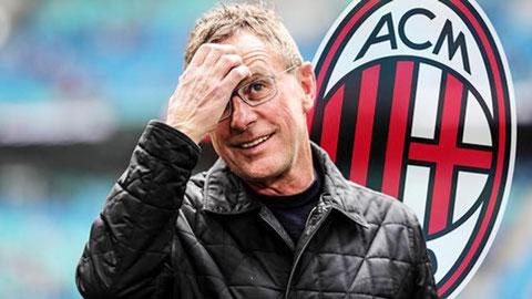 HLV Ralf Rangnick sắp trở thành thuyền trưởng của Milan