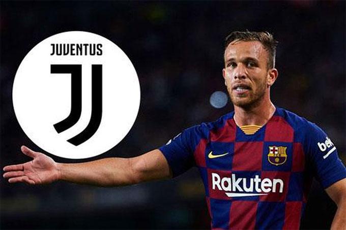 Arthur sẽ được tăng thu nhập gâp 3 nếu tới Juventus