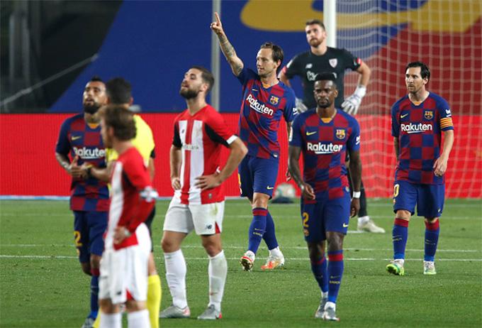 Rakitic đã cán mốc 50 bàn tại La Liga