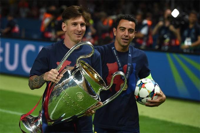 Cầu thủ đá cặp với Messi nhiều nhất không phải là Neymar, Suarez, Xavi hay Iniesta