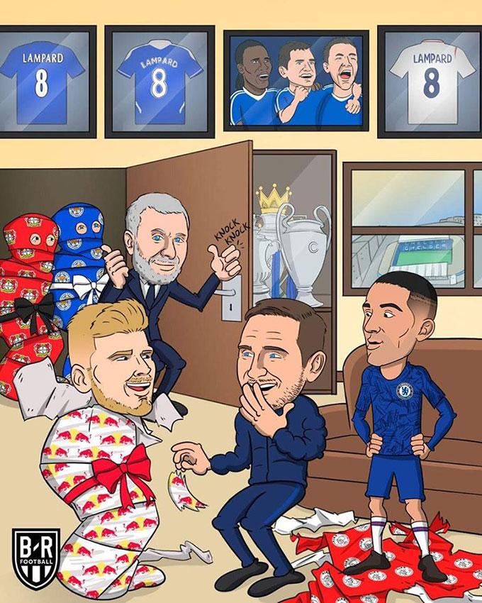 Quà sớm của Abramovich cho Lampard
