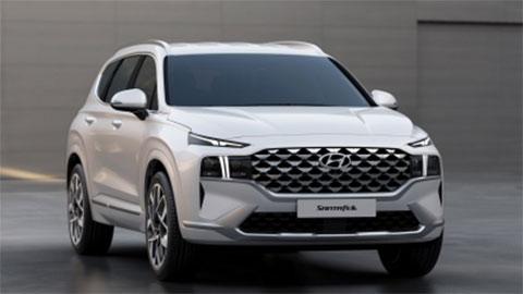 Hyundai Santa Fe 2021 lộ diện với thiết kế tuyệt đẹp, giá mềm, đe Toyota Fortuner, Ford Everest