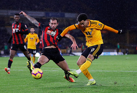 Wolves tràn đầy cơ hội có 3 điểm trước đối thủ Bournemouth để hướng đến trời Âu ở mùa sau