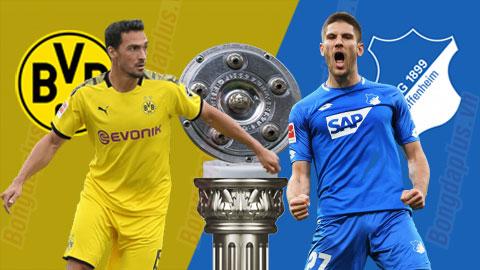 Nhận định bóng đá Dortmund vs Hoffenheim, 20h30 ngày 27/6