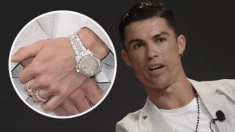 Cristiano Ronaldo sở hữu chiếc Rolex đắt nhất lịch sử