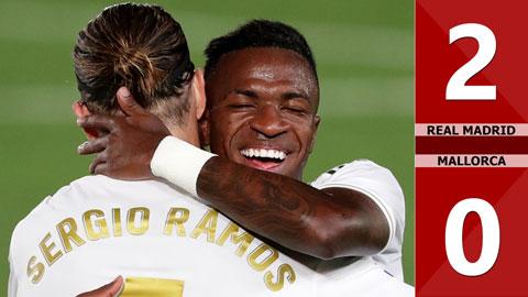 Real Madrid 2-0 Mallorca (Vòng 31 La Liga 2019/20)