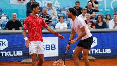Đổ lỗi cho Dimitrov, nhà Djokovic vẫn muốn Adria Tour tiếp diễn