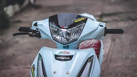 Honda Future 125 trang bị 'đồ chơi' đắt giá từ đầu đến chân, khiến dân mạng trầm trồ