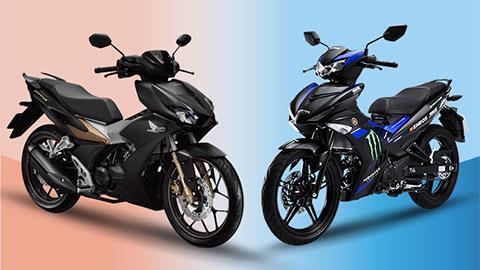 """Yamaha Exciter 150 và Honda Winner X giảm giá """"cực mạnh"""" tại VN, Exciter 155 VVA chưa ra mắt"""