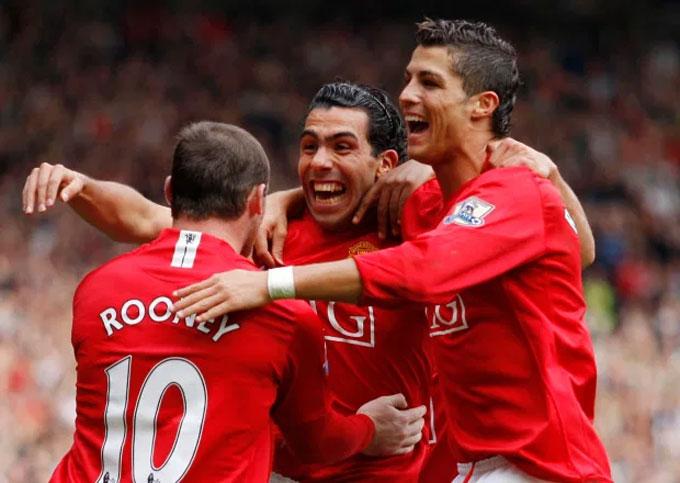 Hình bóng của Rooney - Ronaldo - Tevez đang xuất hiện ở Martial - Rashford - Greenwood