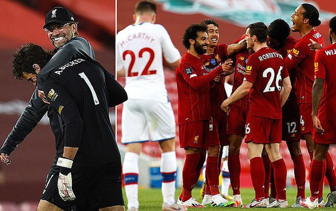 Hành trình đăng quang ngôi vô địch Premier League của Liverpool