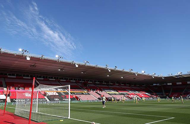 Tường thuật Southampton 0-2 Arsenal