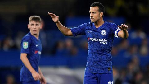 Pedro đã không còn chỗ đứng vững chắc ở Chelsea vì tuổi tác