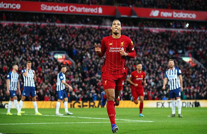 Van Dijk là ngôi sao sáng nhất trong hành trình vô địch của Liverpool