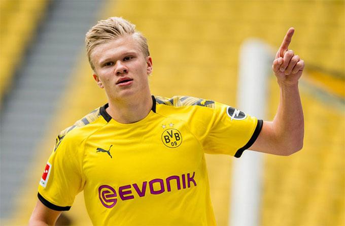 Haaland đang là chân sút số 1 của Dortmund