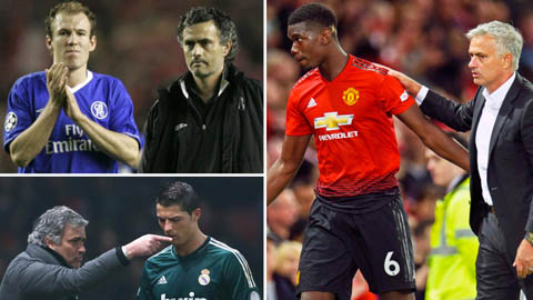 Không chỉ Ndombele, Mourinho còn gây hấn với vô số sao bóng đá nổi tiếng