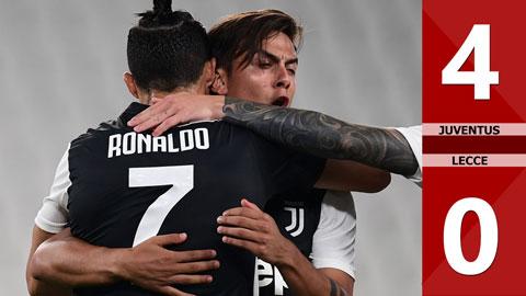 Juventus 4-0 Lecce (Vòng 28 Serie A 2019/20)