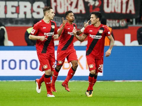 Leverkusen buộc phải thắng Mainz mới có hy vọng vào Top 4