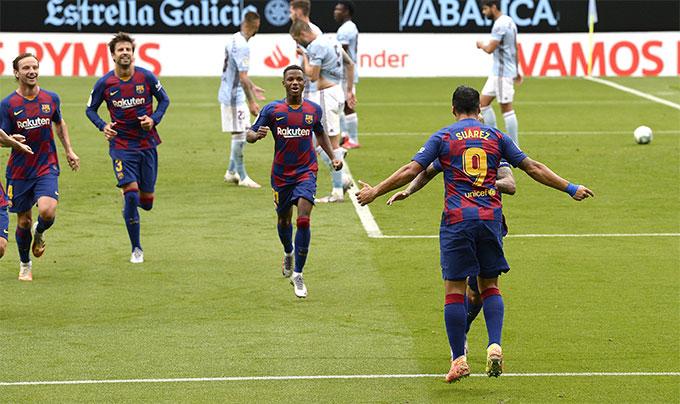 Tường thuật Celta Vigo 2-2 Barca