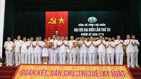 Đảng bộ Vùng 1 Hải quân tổ chức Đại hội đại biểu lần thứ XII - Nhiệm kỳ 2020 – 2025