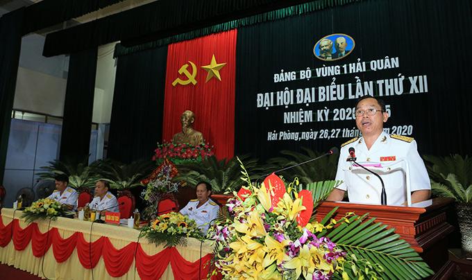 Đồng chí Đại tá Hồ Thanh Hoàn được bầu là Bí thư Đảng ủy