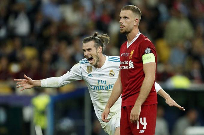 Liverpool thất bại trong trận chung kết Champions League 2018 trước Real...