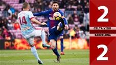 Celta Vigo 2-2 Barcelona (Vòng 32 La Liga 2019/20)