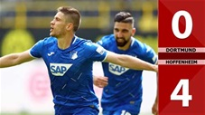 Borussia Dortmund 0-4 Hoffenheim (Vòng 34 Bundesliga 2019/20)