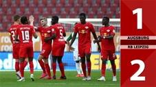 Augsburg 1-2 RB Leipzig (Vòng 34 Bundesliga 2019/20)