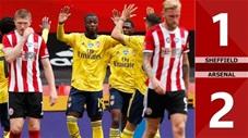 Sheffield United 1-2 Arsenal ( Tứ kết FA Cup 2019/20)