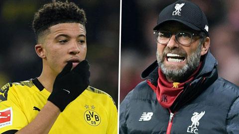 Juergen Klopp: 'Sancho sẽ rất bảnh trong màu áo Liverpool'